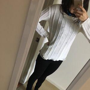 Beautiful white Alice + Olivia sweater